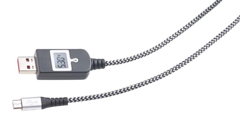 cable de chargement micro usb a puce smart ic ref px1922 1. Black Bedroom Furniture Sets. Home Design Ideas